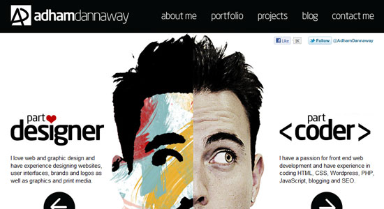 30 Creative Portfolio Designs to Inspire Designers